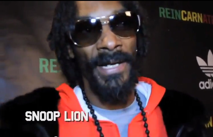 "Celebrities Turned Out For Snoop Lion's ""Reincarnated"" Premiere [VIDEO]"