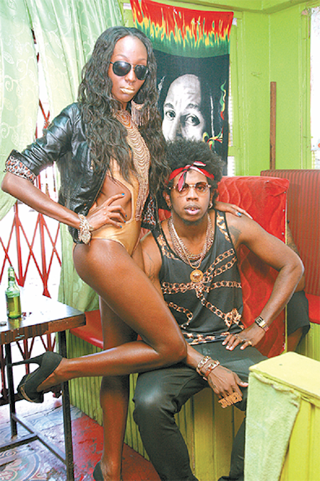 Trinidad James and Athaliah Samuels