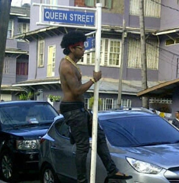 Trinidad James in port of spain