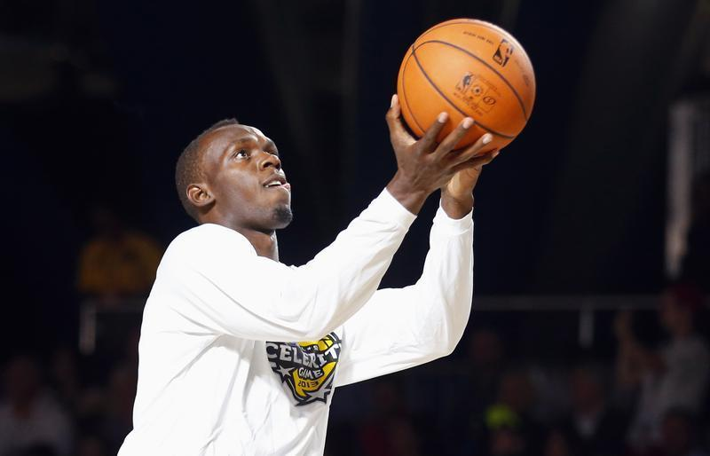 Usain Bolt, Star of NBA All-Star Weekend, Dunks in ...