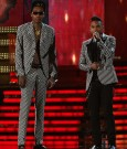 Wiz Khalifa and miguel outfit Grammys