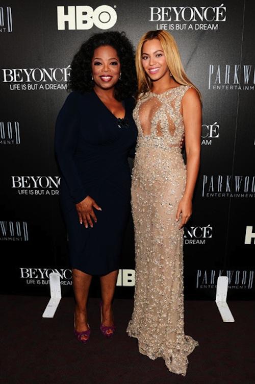 beyonce and oprah 2013