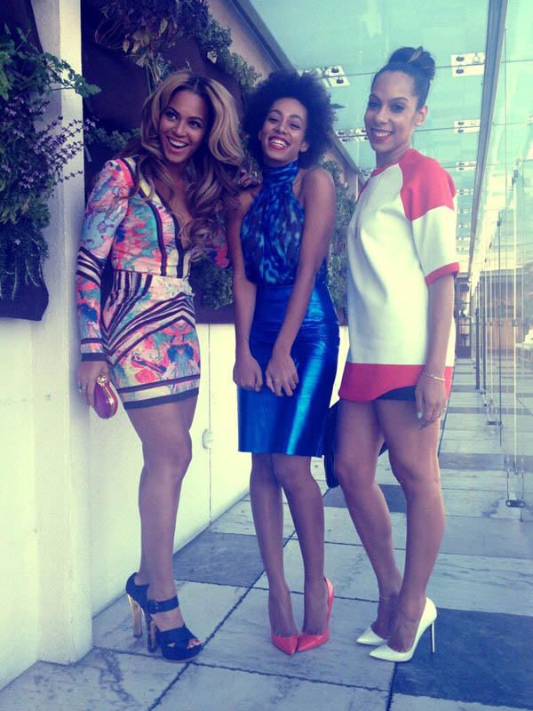 beyonce solange roc nation party