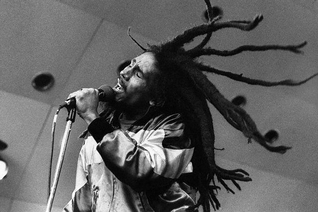 Bob Marley Performing in London