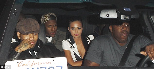 chris brown leaving club