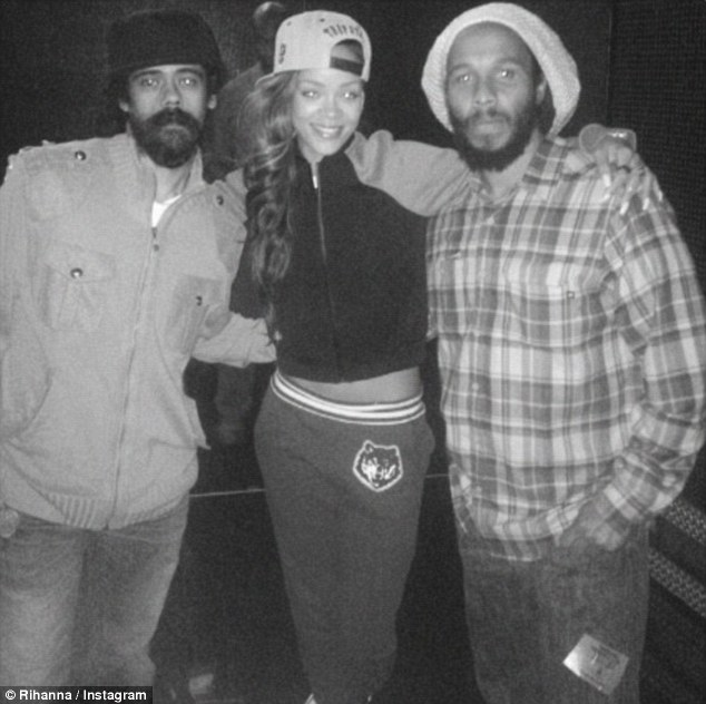damian rihanna and ziggy marley