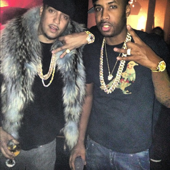 french montana and SB