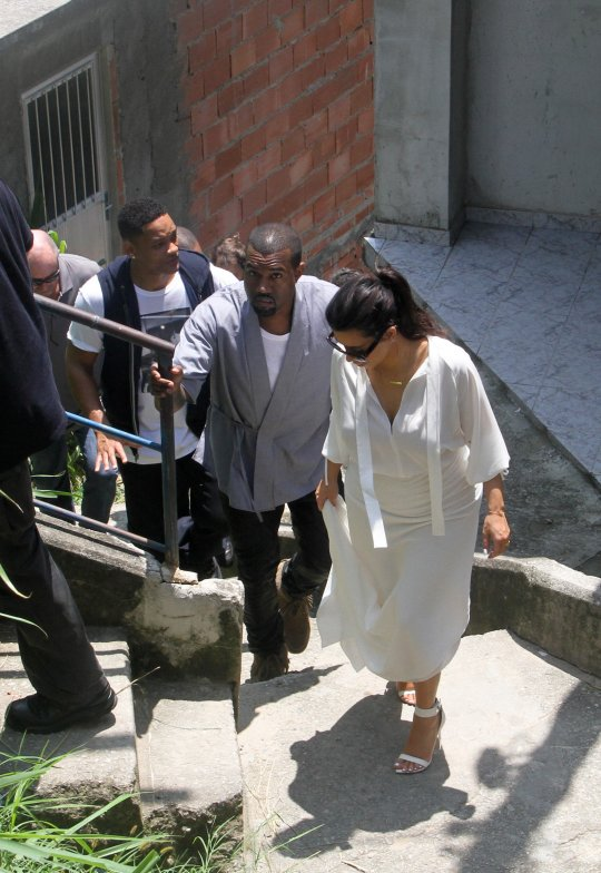 kanye west kim kardashian will smith brazil