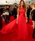 rihanna grammy red carpet 2013