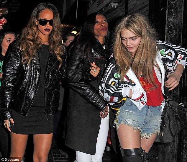 rihanna melissa and cara