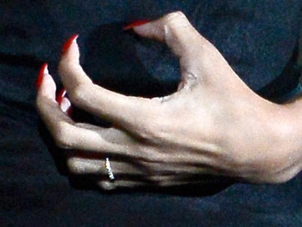 rihanna ring finger
