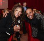 steven tyler and Chris Brown