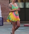 Amber Rose post baby body pic
