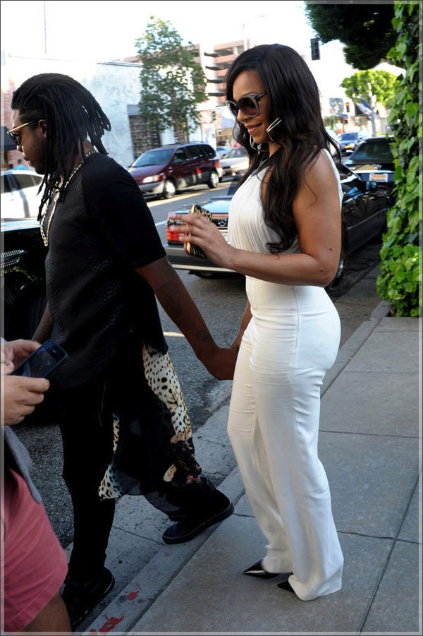 Ashanti and boyfriend 1