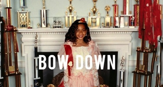 Beyonce Bow Down cover art 2013