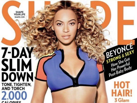 Beyonce magazine cover photo