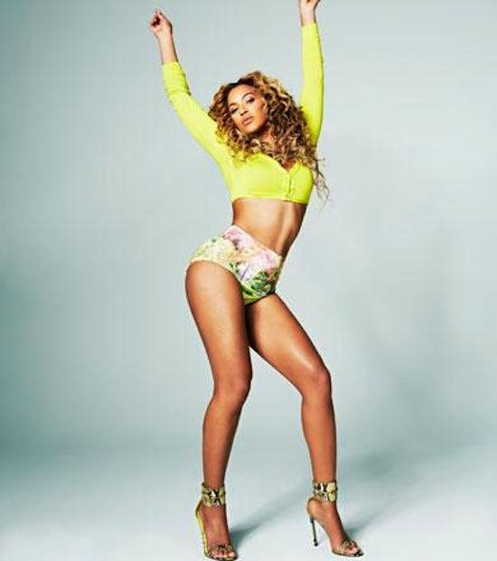 Beyonce shape mag 2
