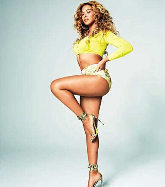 Beyonce shape mag 8