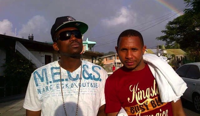Busy Signal and Shane Brown photo