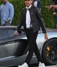 Chris Brown Fine China video shoot