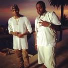 Chris Brown Sean Kingston Beat It video shoot