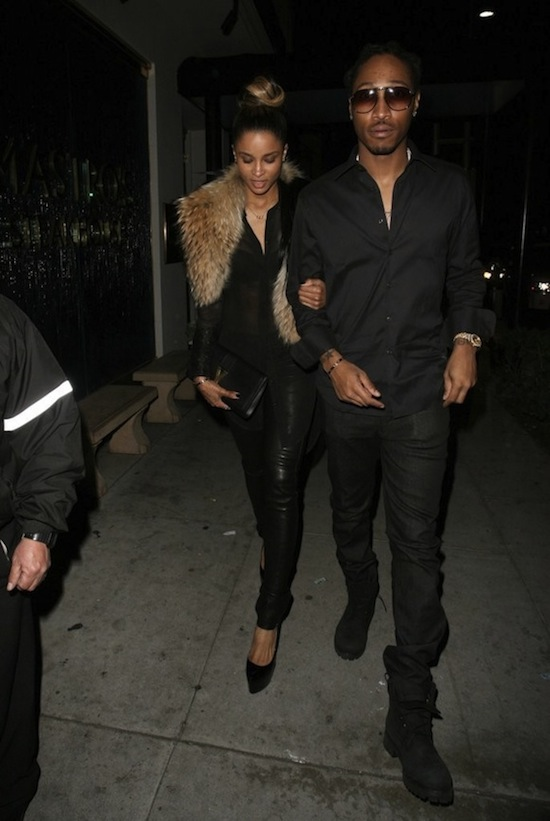 Ciara and Future date 2