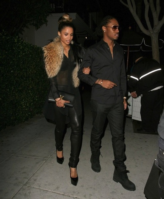 Ciara and Future date 4