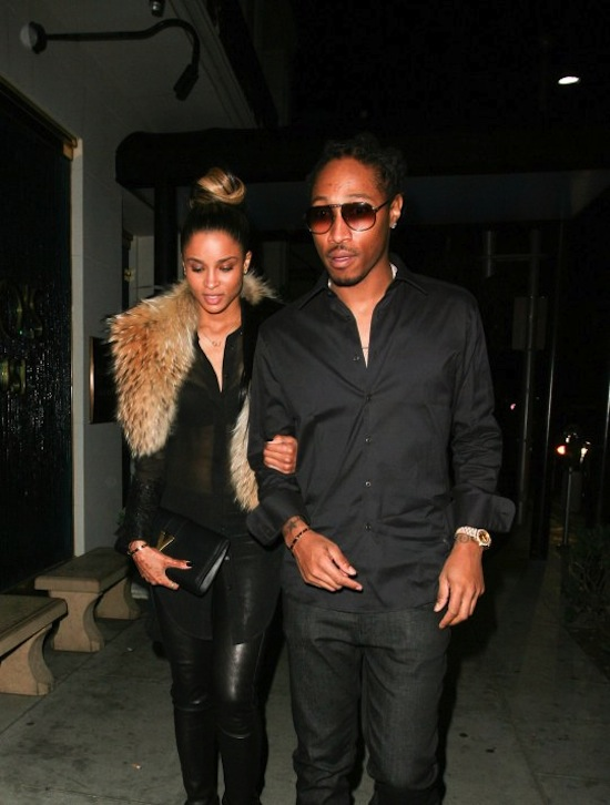 Ciara and Future date 6