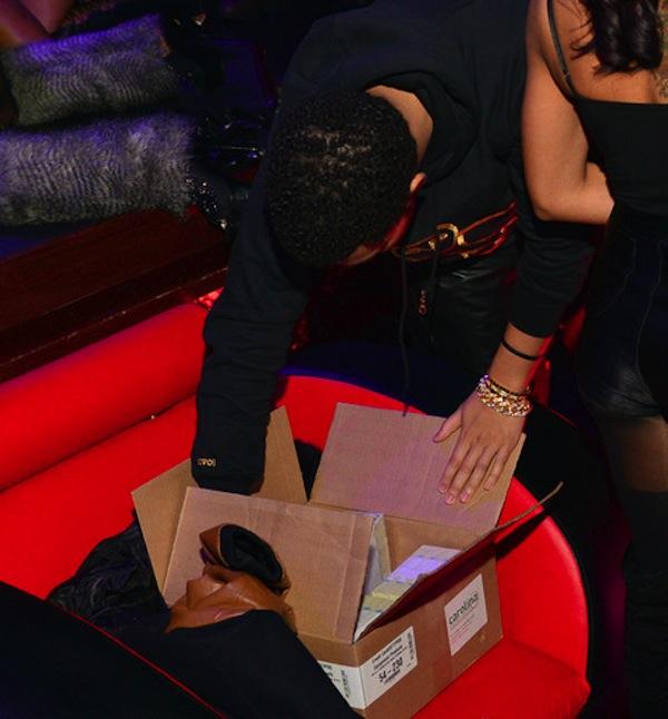 Drake box of money