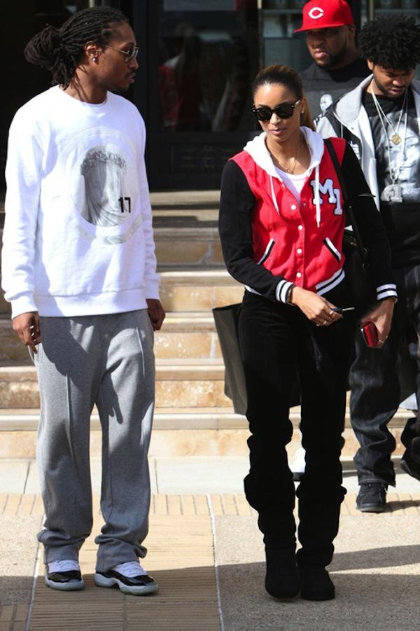 Future and Ciara Beverly Hills 5