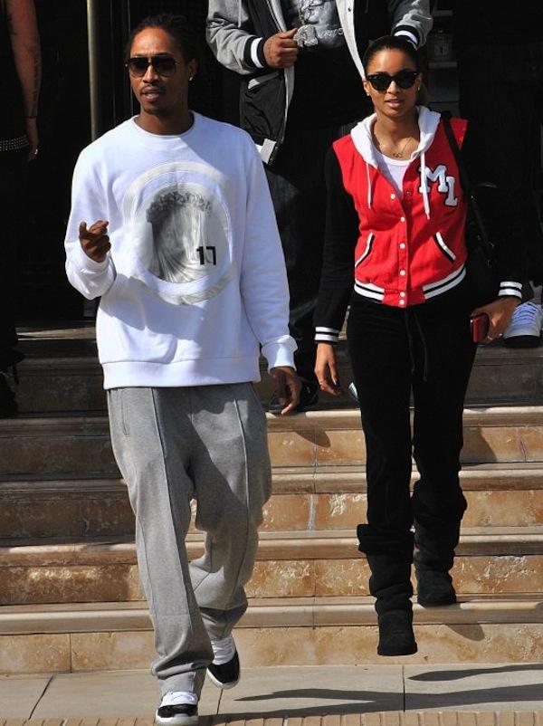 Future and Ciara Beverly Hills