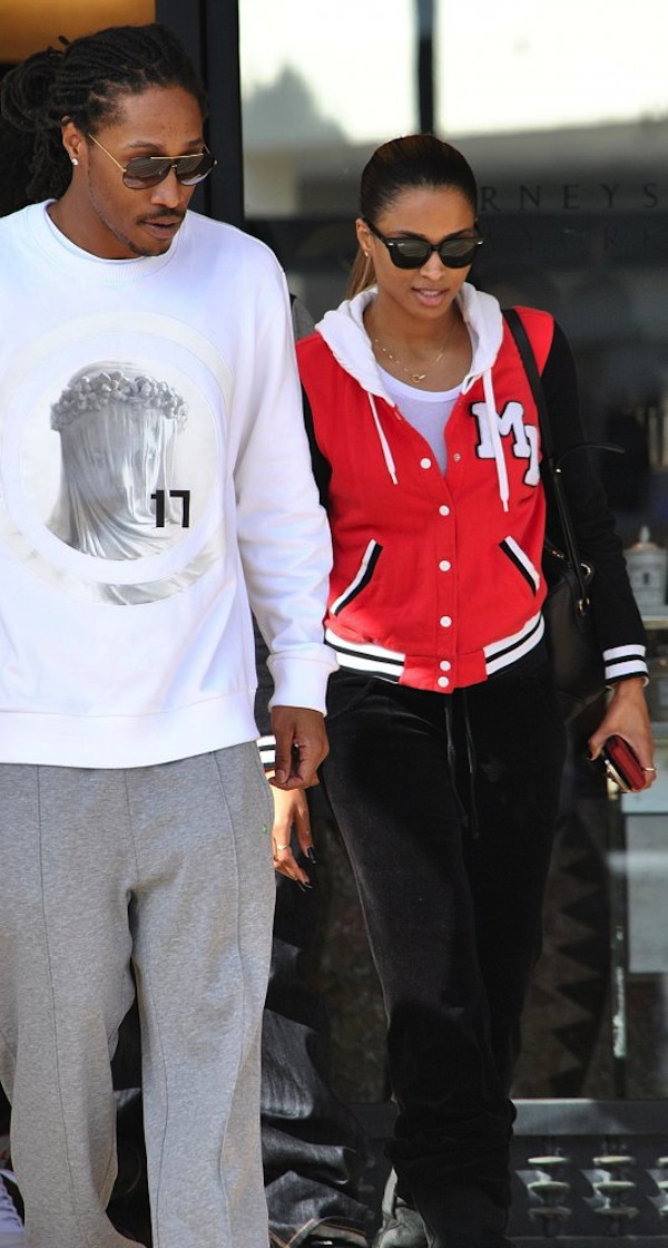 Future and Ciara couple up