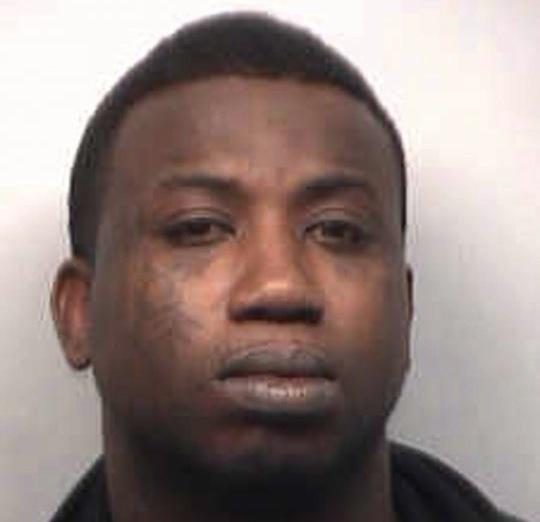 Gucci Mane mugshot