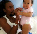 Jah Cure and baby Kailani