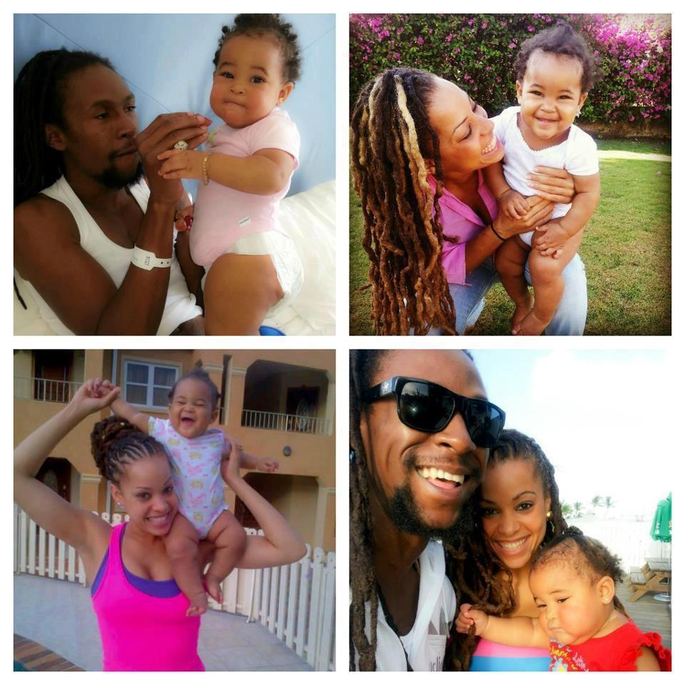 Jah Cure kamila and baby kailani