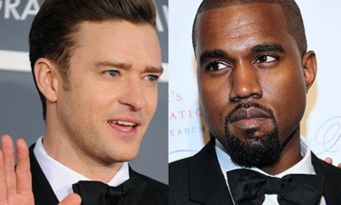 Kanye West and Justin Timberlake