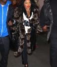 Lil Kim Fur coat 2013 pic