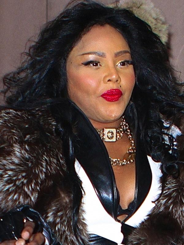 Lil Kim Fur coat 2013