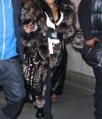 Lil Kim NYC Fur Coat