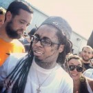 Lil Wayne at pro skateboard contest 2