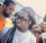 Lil Wayne at pro skateboard contest 2