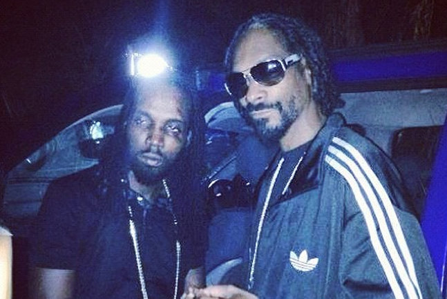 Mavado and Snoop lion