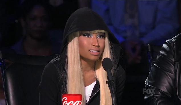 Nicki Minaj American Idol Late