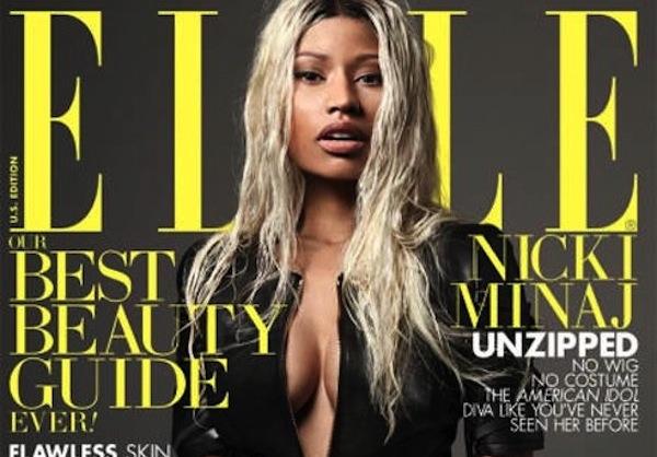 Nicki Minaj Elle cover