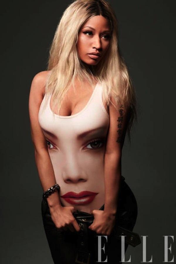 Nicki Minaj New Look Elle mag