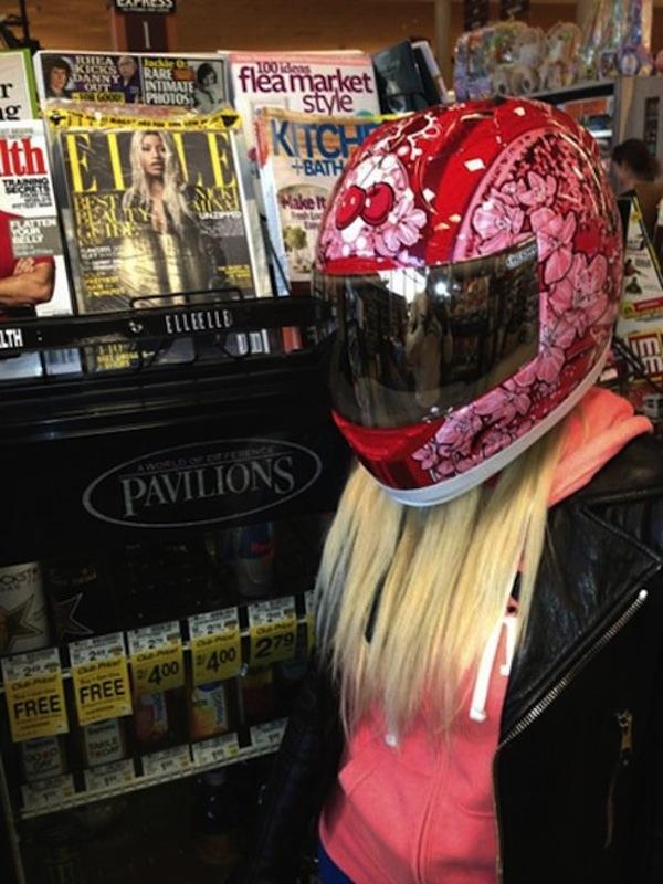 Nicki Minaj biker