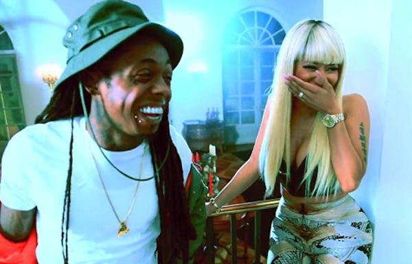 Nicki Minaj lil Wayne high school set