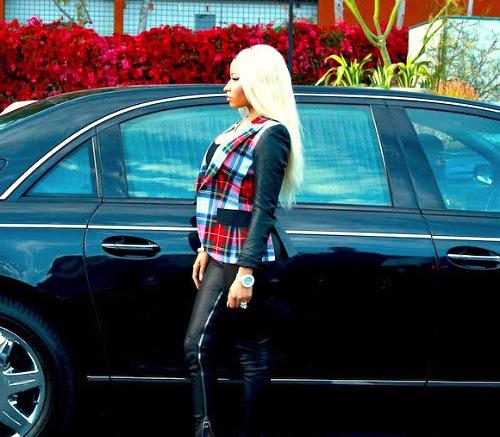 Nicki Minaj maybach