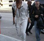 Rihanna DKNY Jumpsuit