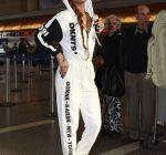 Rihanna DKNY Jumpsuit 5